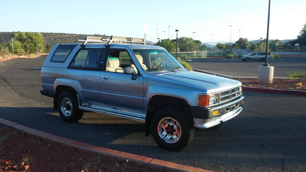 fs 1st gen 1988 4runner 75k orig miles 9 500 az toyota 4runner forum largest 4runner forum. Black Bedroom Furniture Sets. Home Design Ideas