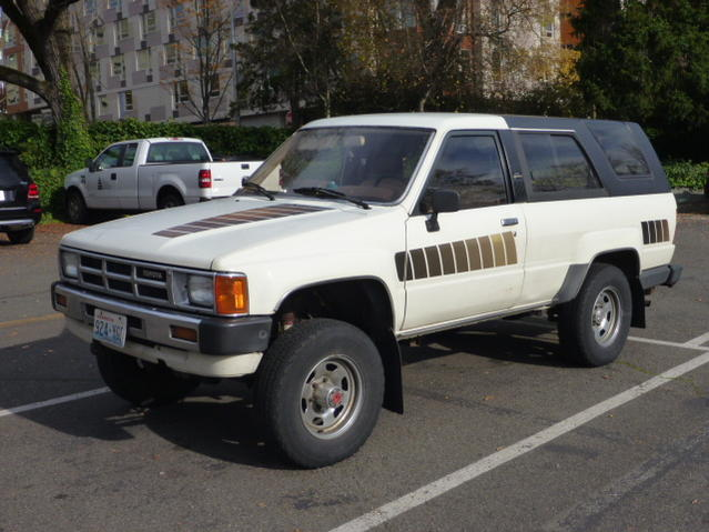 Downtown Toyota Dealer ... sale, 1985 4Runner SR5, Seattle, $3,000. - Toyota 4Runner Forum