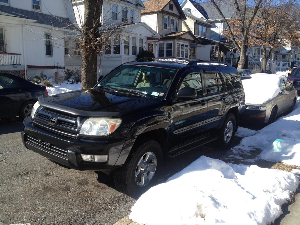 ny 2004 sr5 95k with third row seating toyota 4runner. Black Bedroom Furniture Sets. Home Design Ideas