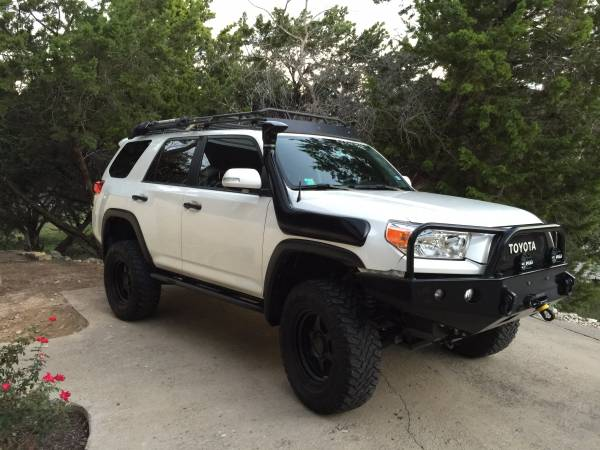 2011 Toyota 4Runner Limited For Sale >> Fs 2011 4runner Limited Blizzard Pearl Heavily Modified