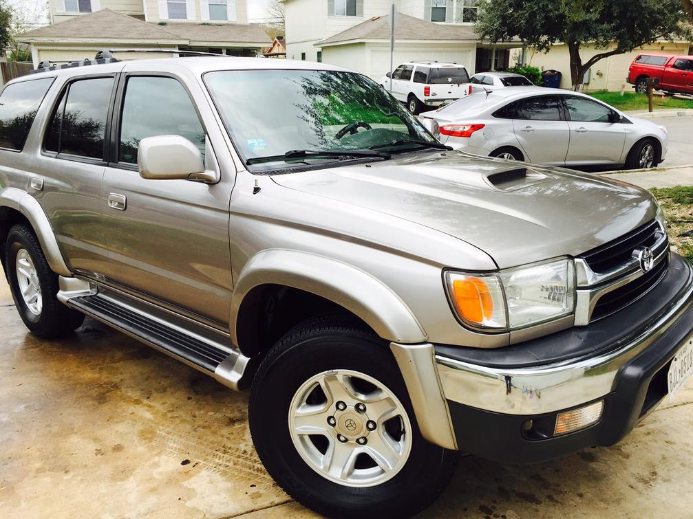 Fs: 2001 toyota 4runner 4x4 center lock diff 1 owner 209k miles ...
