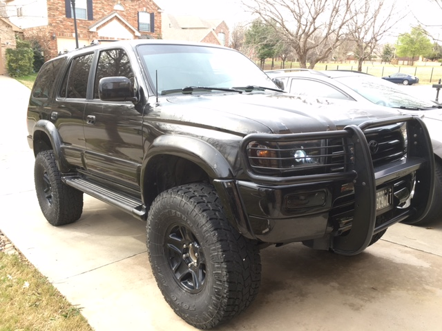 1996 toyota 4runner limited 4x4 lifted on 35 39 s dfw tx. Black Bedroom Furniture Sets. Home Design Ideas