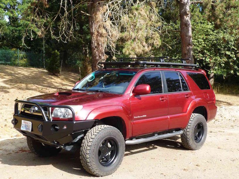 2006 Toyota 4runner Se V8 Red Icon Lift Seattle Toyota 4runner