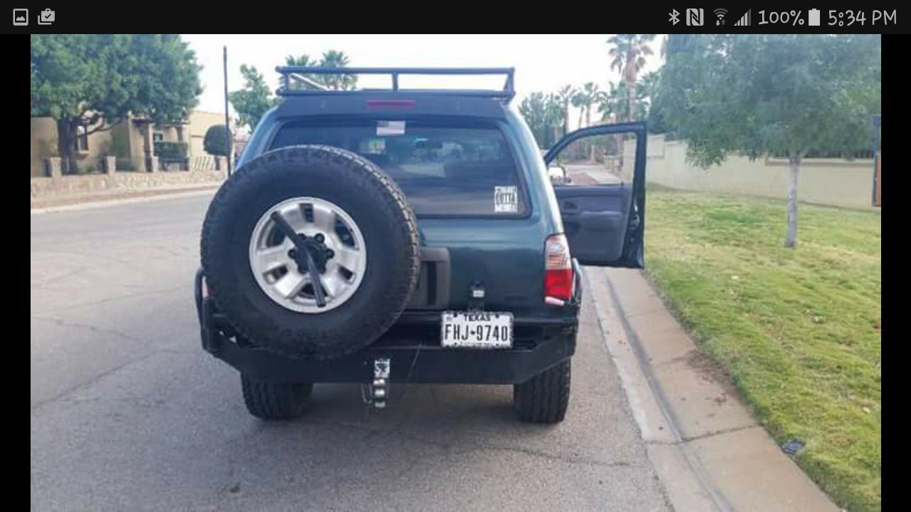 FS: 3rd Gen '97 4runner Sr5 4x4 auto,supercharged,locked,lifted,armored, El Paso Tx $-screenshot_20170506-173450-jpg