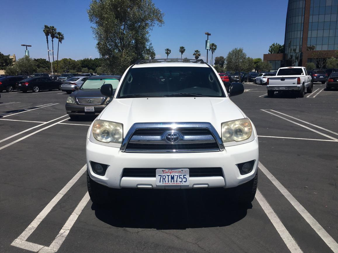 2007 4runner sr5 v6 4x4 long beach ca 12000 toyota. Black Bedroom Furniture Sets. Home Design Ideas