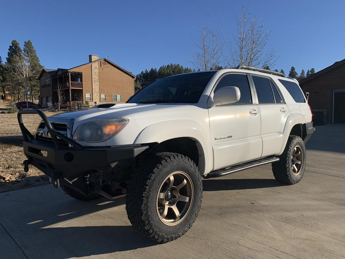 FOR SALE - 4th Gen - 2006 4Runner Sport - built, stage 1 Icon +++ -- ,500-outside_frontdrivers-jpg