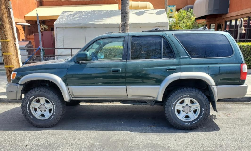 SOLD 2000 toyota 4runner 4x4 Imperial Jade North Hollywood,California 00 OBO-20200321_020248-jpg
