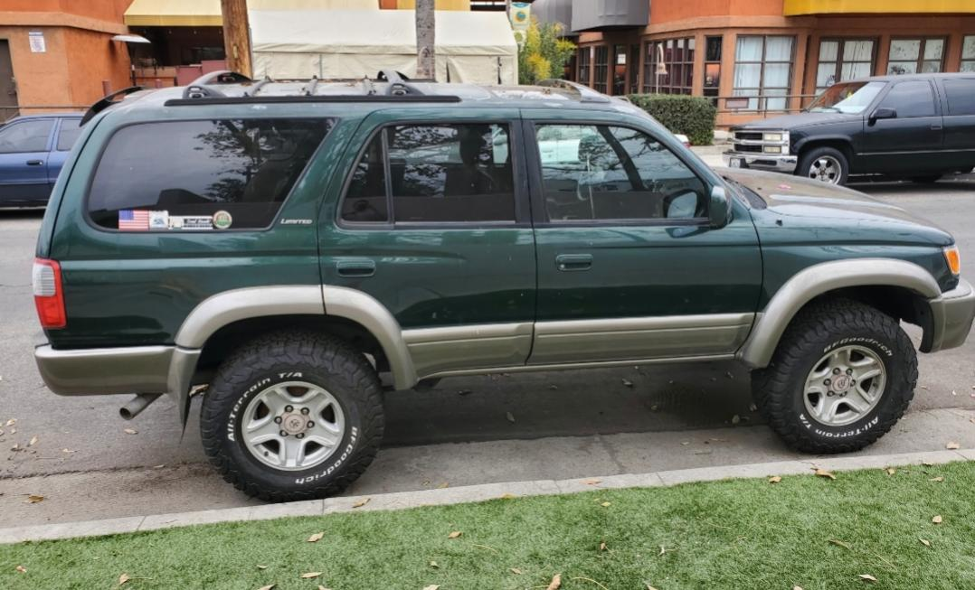 SOLD 2000 toyota 4runner 4x4 Imperial Jade North Hollywood,California 00 OBO-20200321_020711-jpg