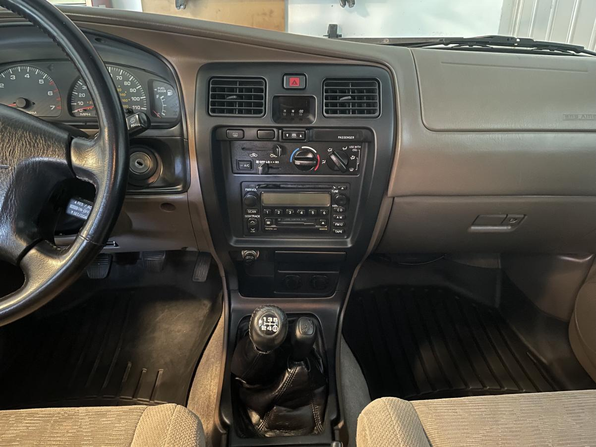 SOLD: 2000 4Runner SR5, 5-speed manual 4WD, 227K, ,500; Richardson, TX-img_3850-jpg