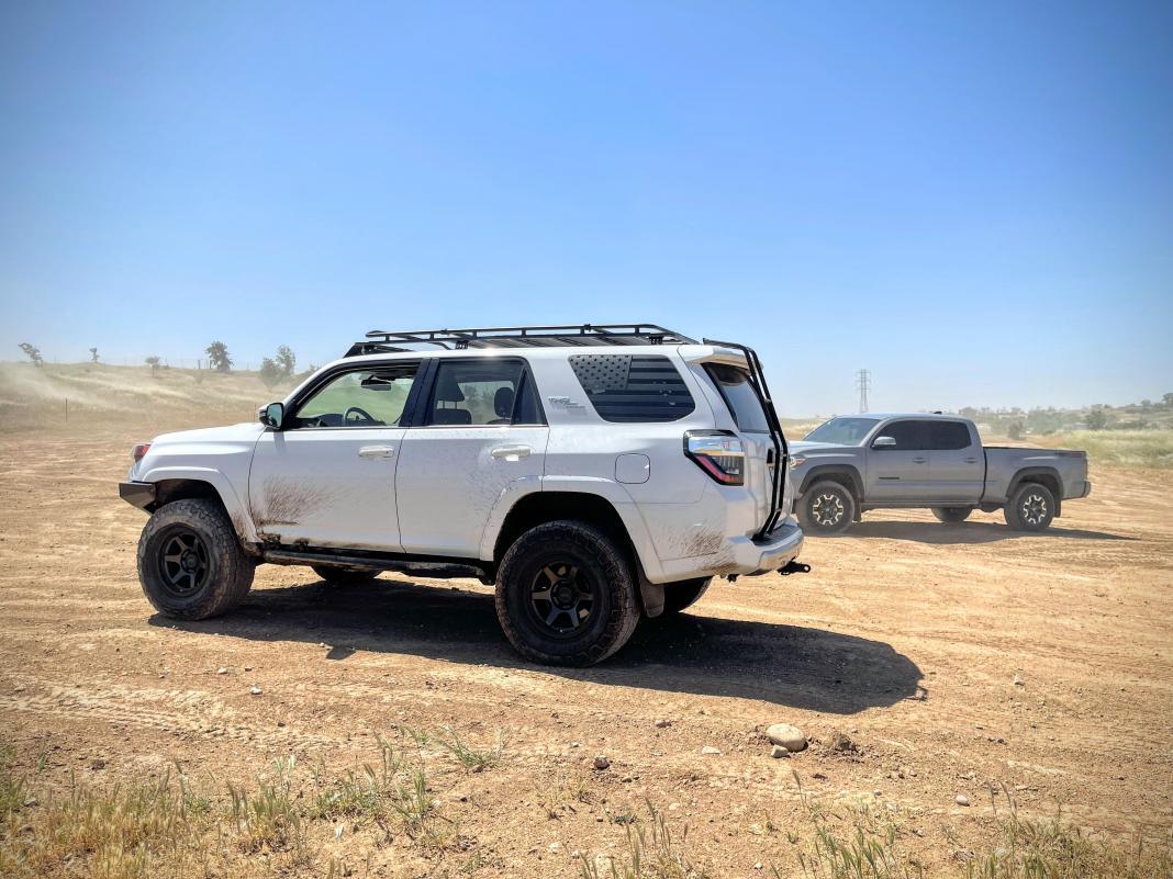 FS: 2017 4Runner TRD Off-Road Premium 4x4 White, KDSS, 26k miles! Sacramento, CA-4runner-pic-1-jpg