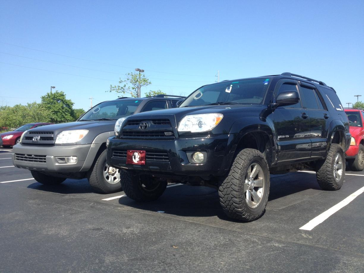 Fs Ft 2006 Limited Lifted 4runner Black V8 4x4 95 000 Miles In