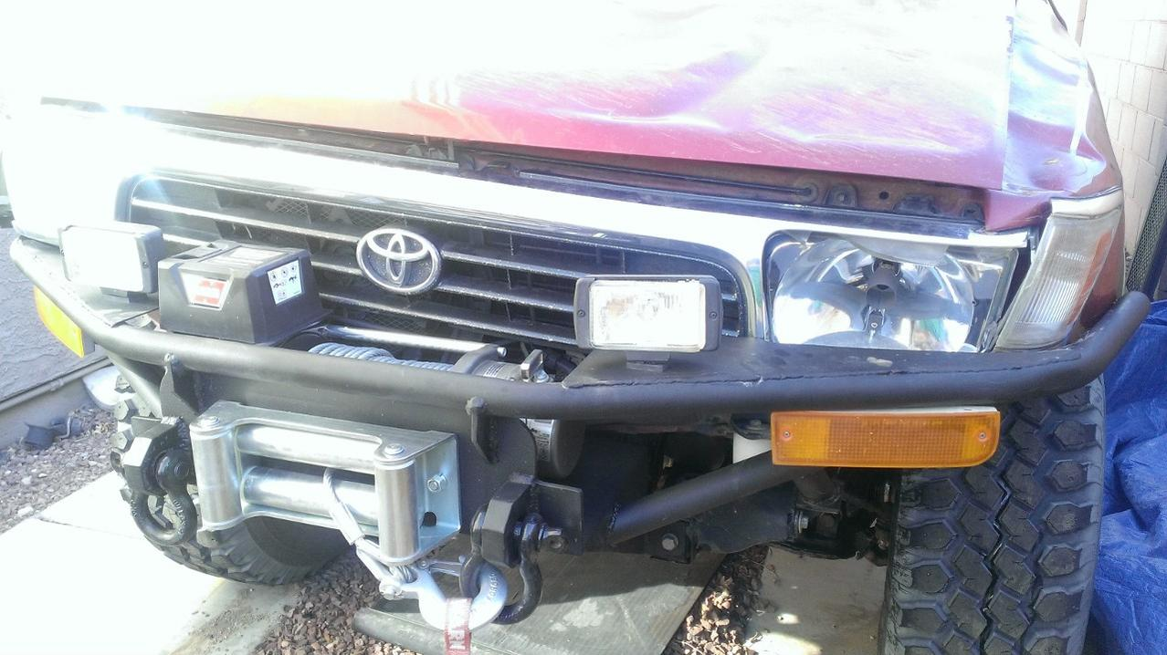Fs 1994 V6 Lifted Locked Wrecked Az 1495 Obo