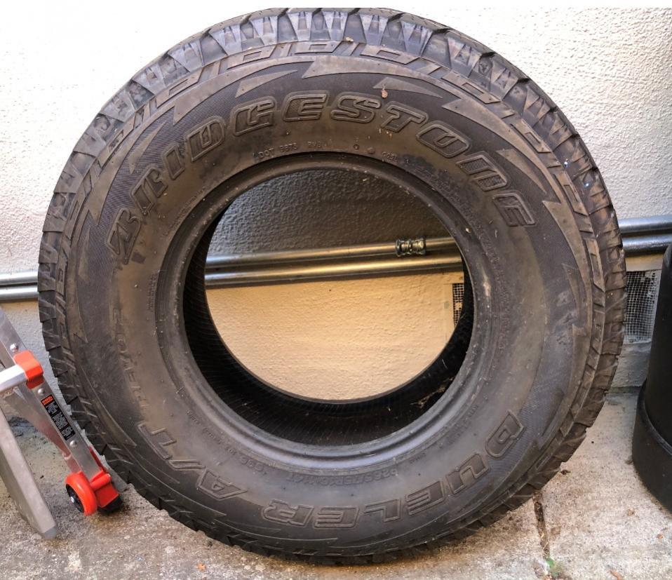 Free used Bridgestone Revo 2 (you know you need a better spare!)-tire-jpg