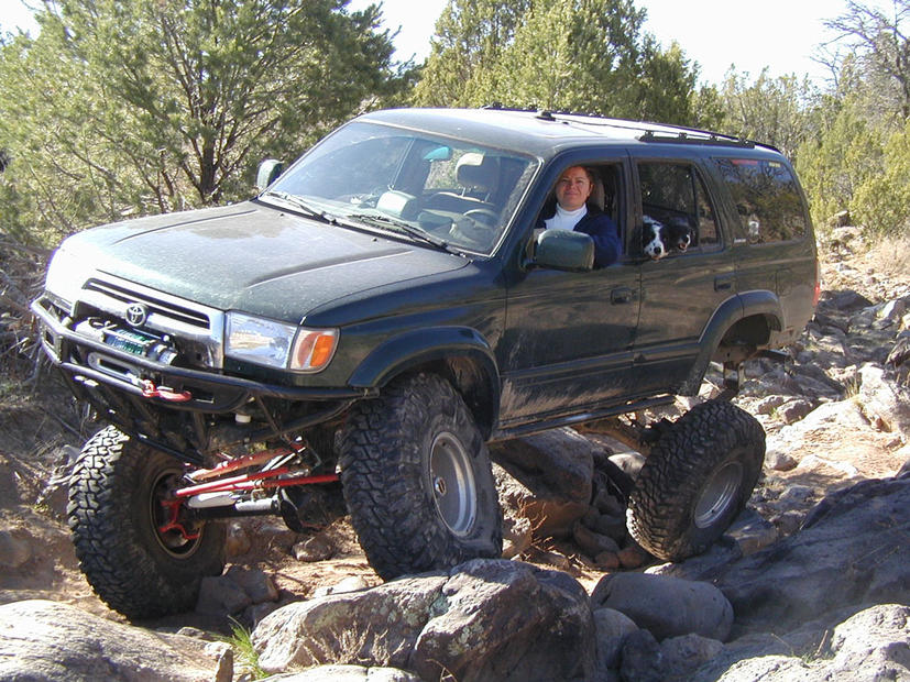 Official Collection of Solid Front Axle 3rd Generation 4Runners-flexing-jpg