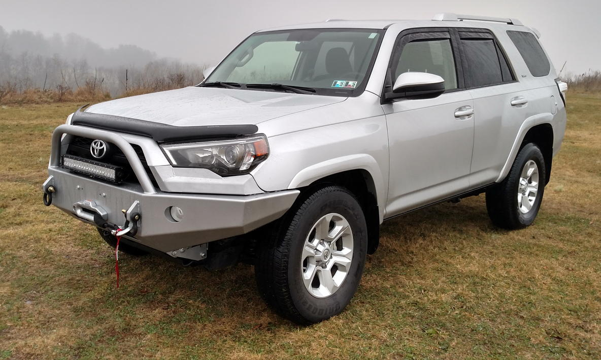 2015 toyota 4runner front winch autos post. Black Bedroom Furniture Sets. Home Design Ideas
