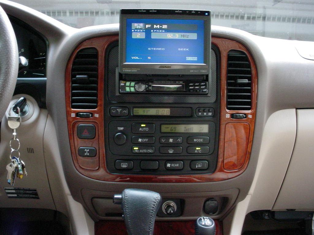 pics of my new lexus lx470 w my old cr v toyota 4runner forum largest 4runner forum lexus lx470 w my old cr v