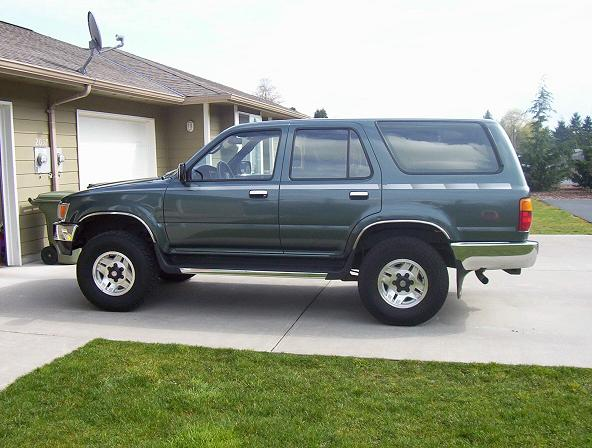 1992 4runner green toyota 4runner forum largest. Black Bedroom Furniture Sets. Home Design Ideas