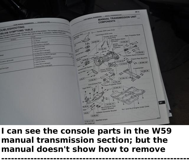Request troubleshooting advice for 1st gear manual transmission