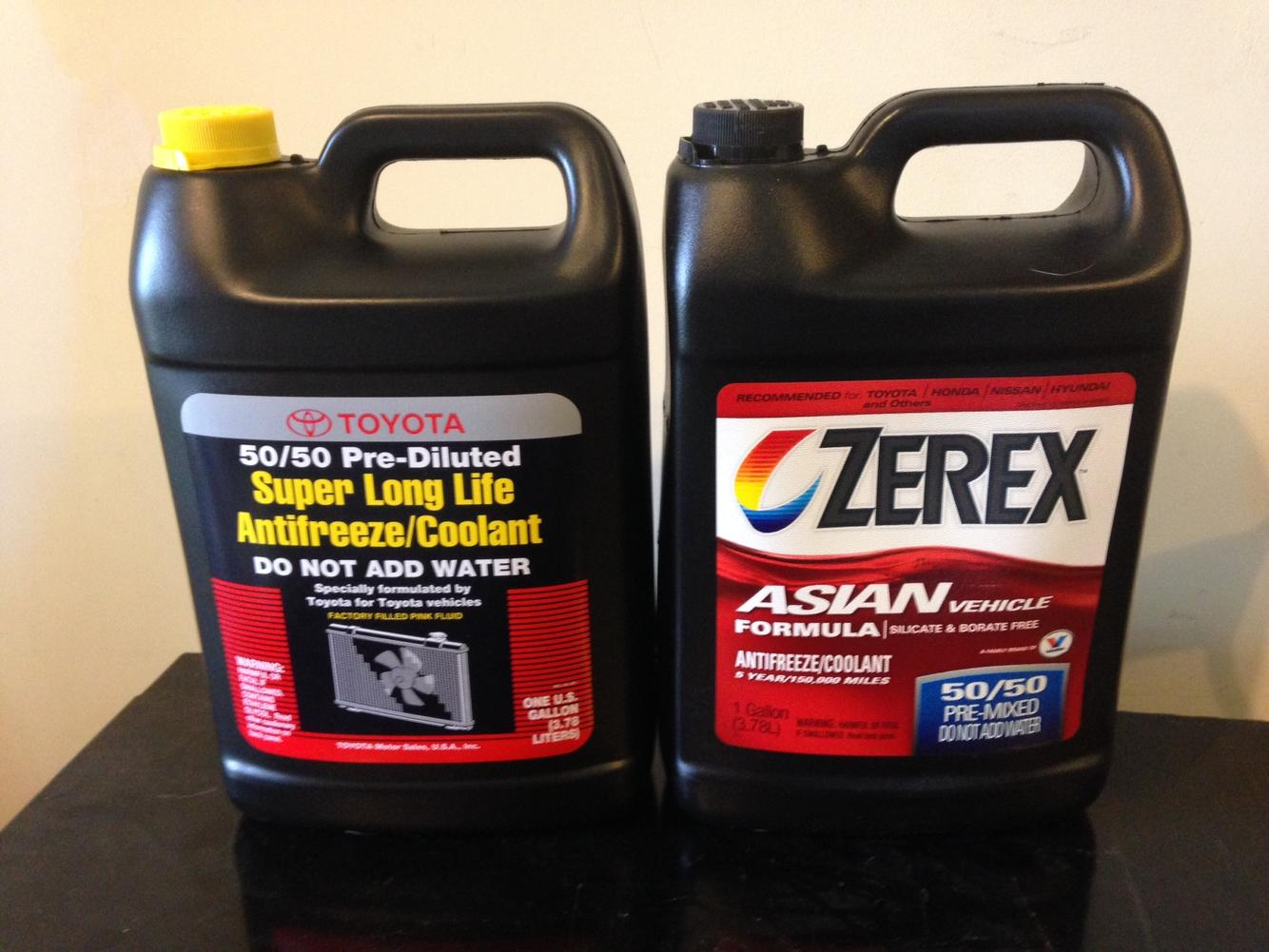 zerex asian vs toyota pink sllc toyota 4runner forum largest rh toyota 4runner org toyota red coolant equivalent toyota red coolant vs green