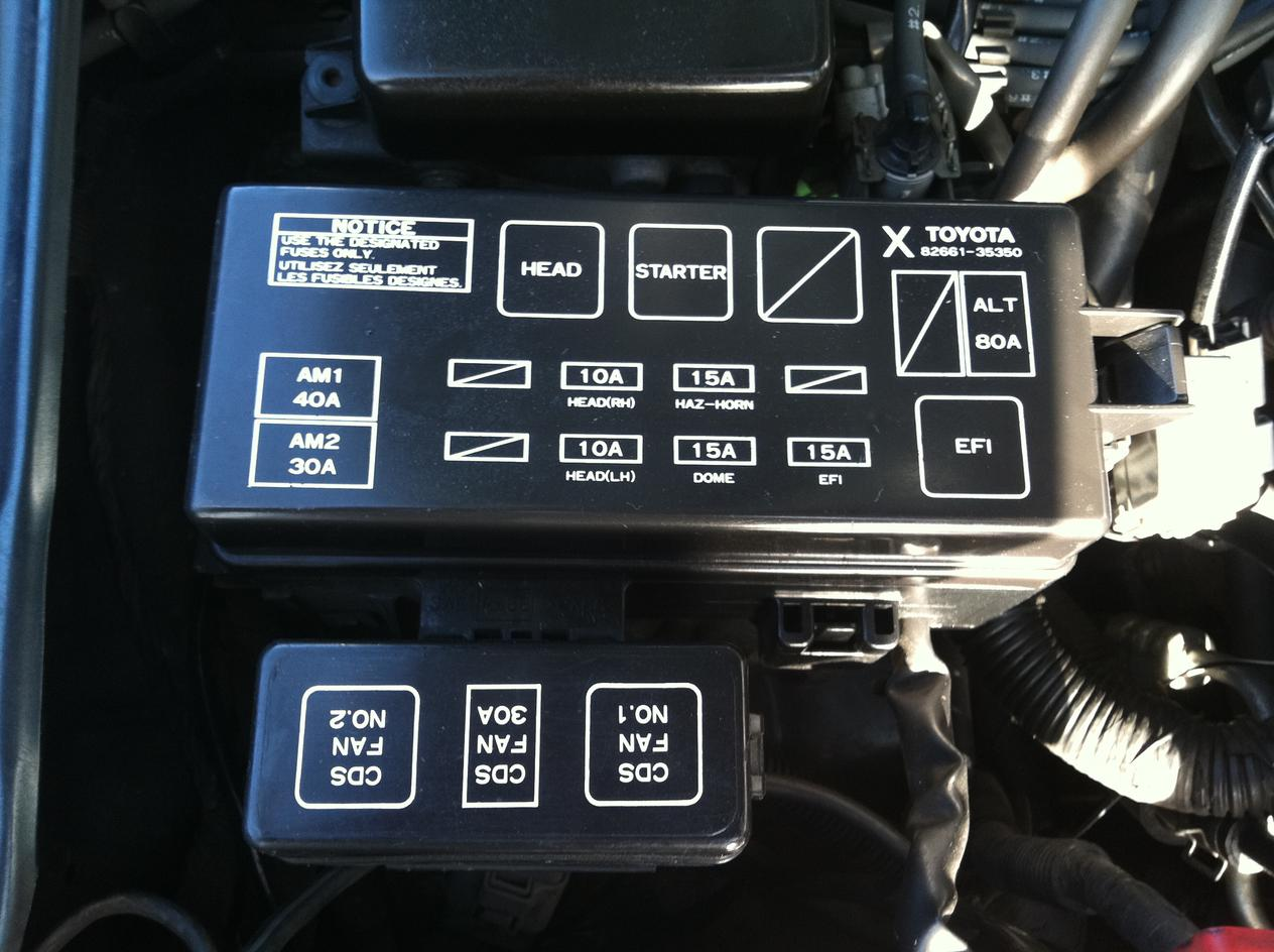 Fuel Pump Relay - Toyota 4runner Forum