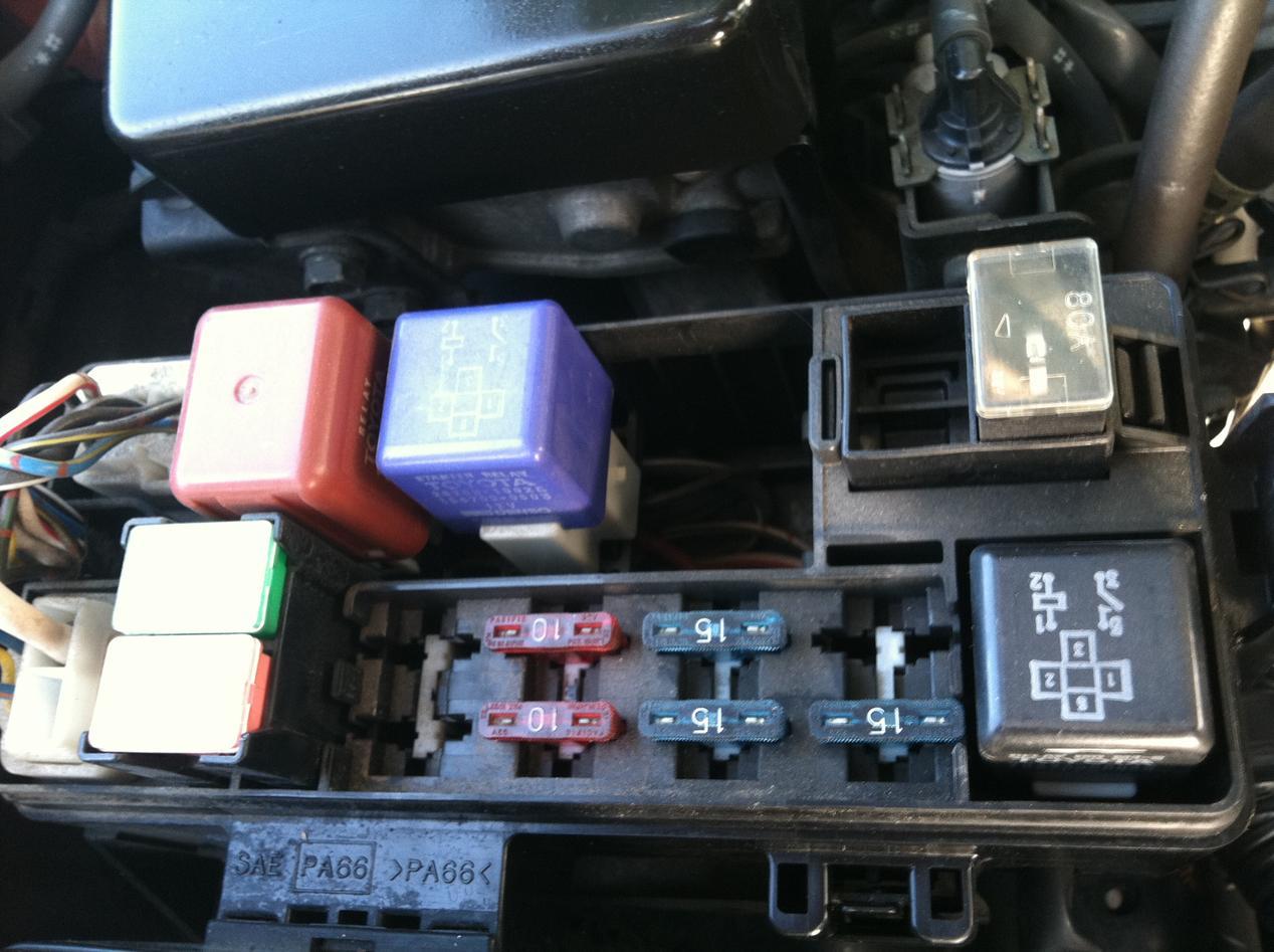Fuel Pump Relay - Toyota 4runner Forum