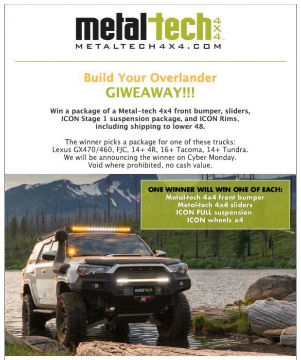 GIVEAWAY!   Build an overlander with Metal-tech 4x4 and ICON Vehicle Dynamics-screen-shot-2019-11-04-10-32-22-am-jpg