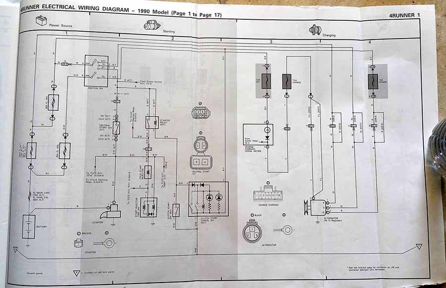 1990 Toyota Pickup 3vze Wiring Diagram All Wiring Diagram