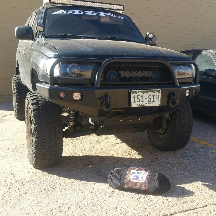 OffRoadWarehouse & BubbaRope - Toyota 4Runner Forum