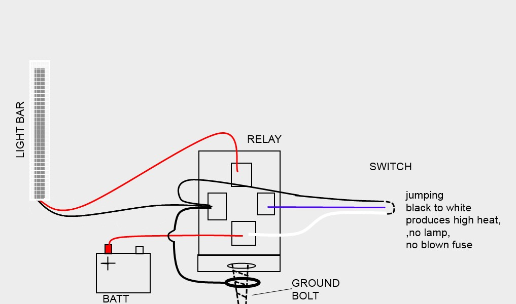Led Light Bar Relay Wiring Diagram from www.toyota-4runner.org