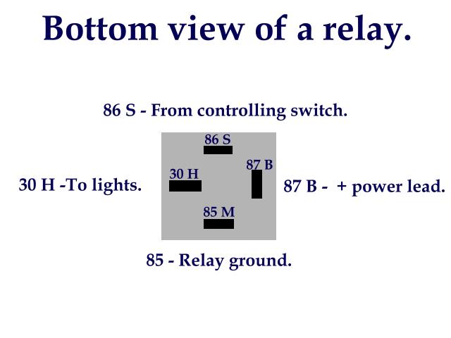 Above Wiring Diagram Showing How The Relay Harness Was Wired On My