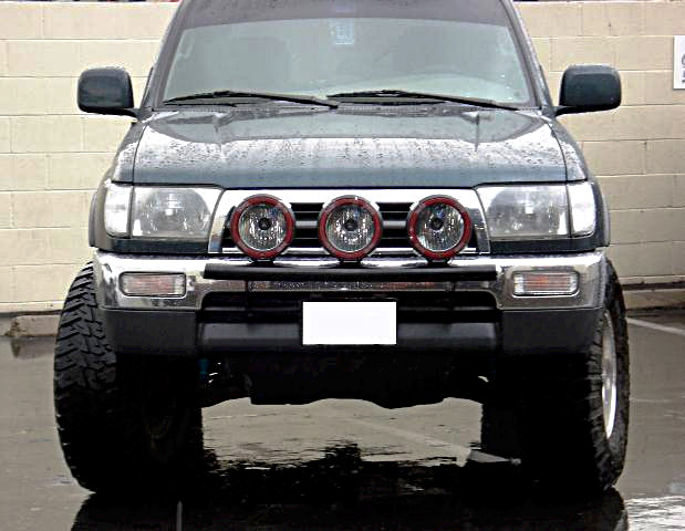 Mounting Off Road Lights On 3rd Gen 4runner Best Way