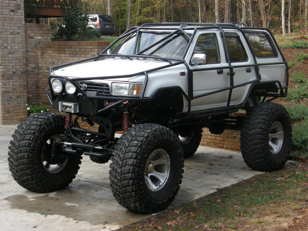 Toyota 4runner Off Road >> toyota exo roll cage