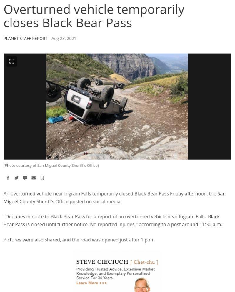 """this easy, that easy:"" more Black Bear Pass rollovers-screenshot_2021-08-26-16-58-51-1-jpg"