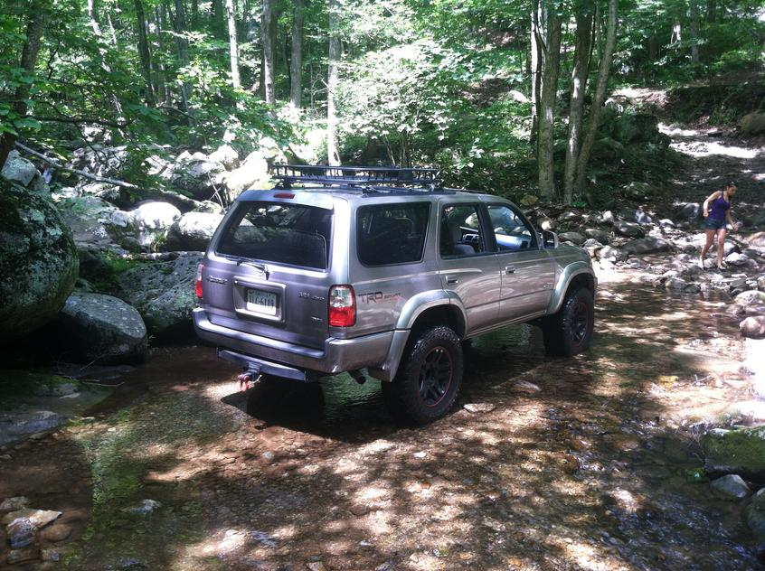 Shoe Creek Run W Pictures Toyota 4runner Forum Largest