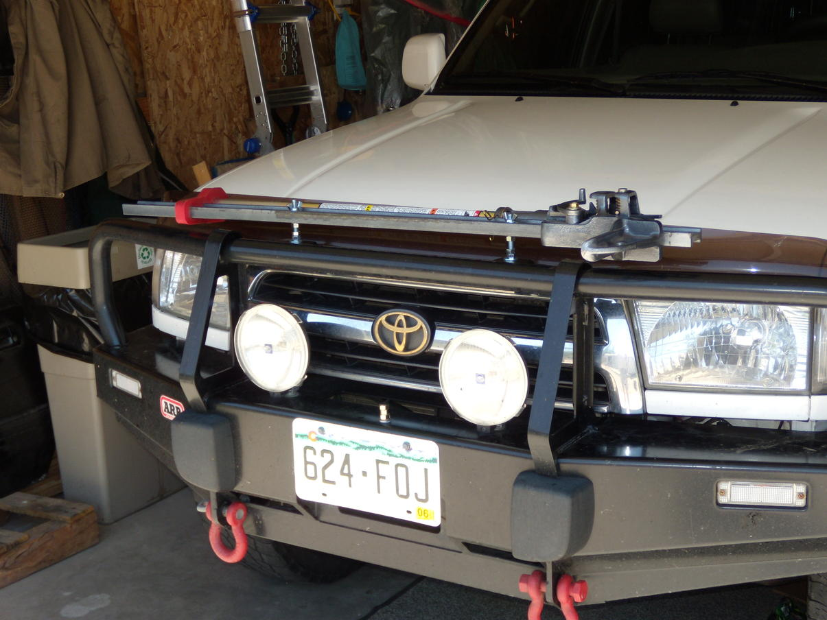 Clear Turn Signal Lenses For The Arb Bumpers Toyota