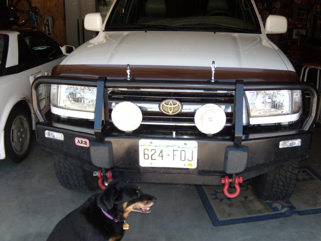 Clear Turn Signal Lenses For The Arb Bumpers 0615 Uro Lights Painted