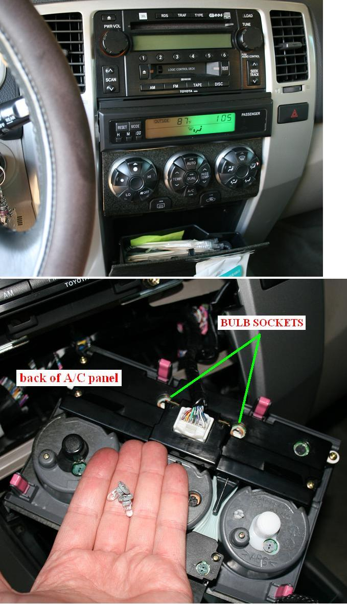 Backlight In Info Panel Flickering Page 2 Toyota