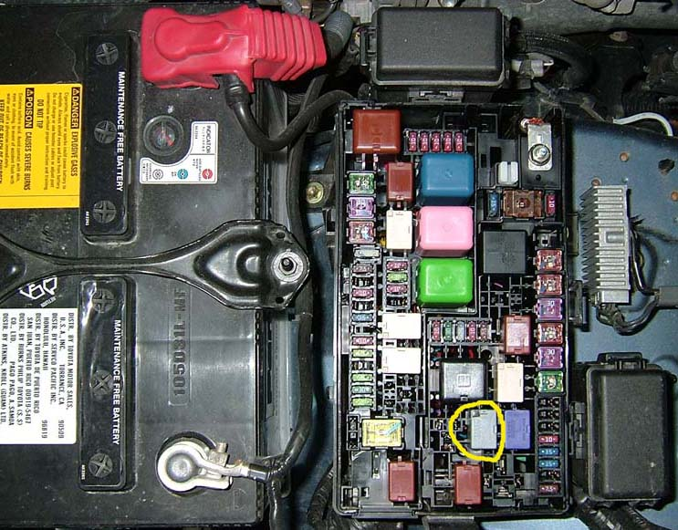 A/C Light Blinking on 2003 LTD-ac-relay-jpg