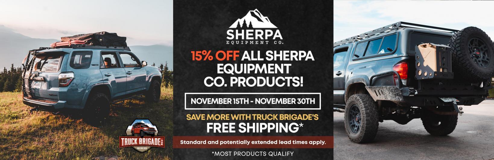 Sherpa Equipment Co. Black Friday Savings!-sherpa_equipment_co_black_friday_web_banner-jpg