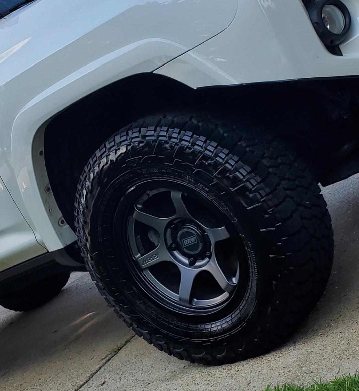 Trd rrw wheels and LT falken wildpeaks in VA Beach, VA-20200125_085931-jpg