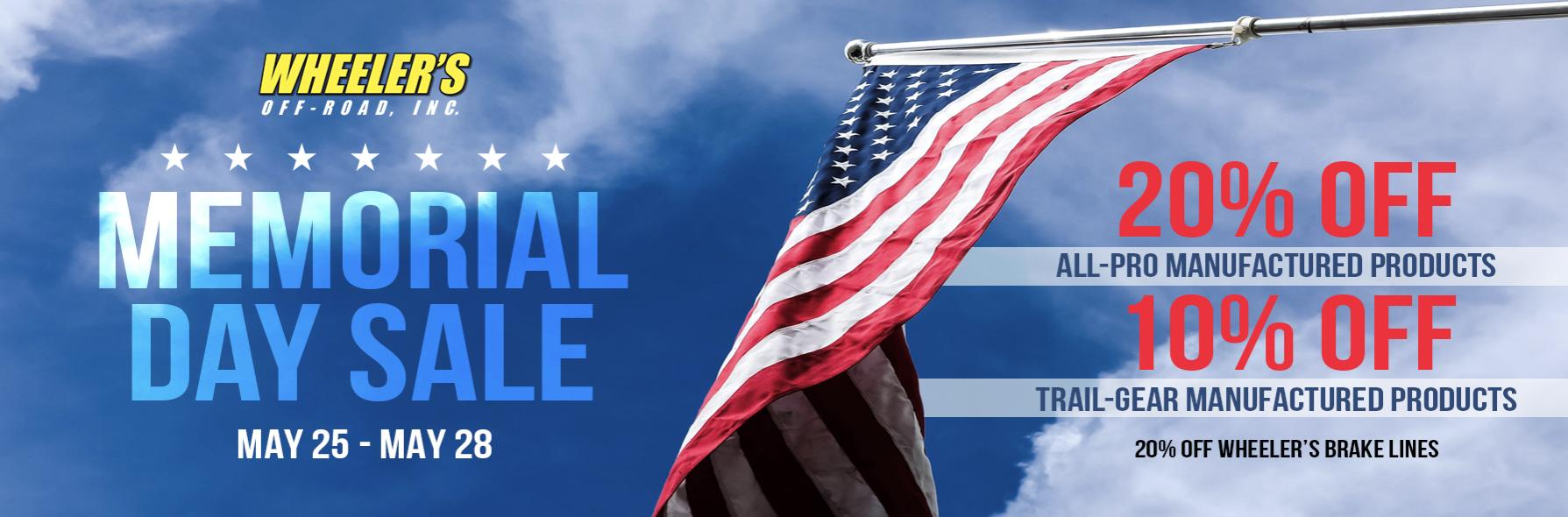 Wheeler's Memorial Day Sale-wor-jpg