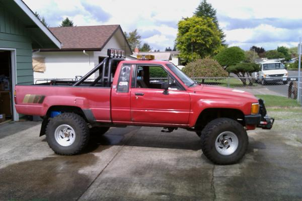 1985 toyota truck - Interior roll cage for toyota pickup ...