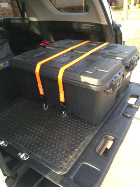 Mudpie S Removable Rear Cargo Storage Setup Toyota