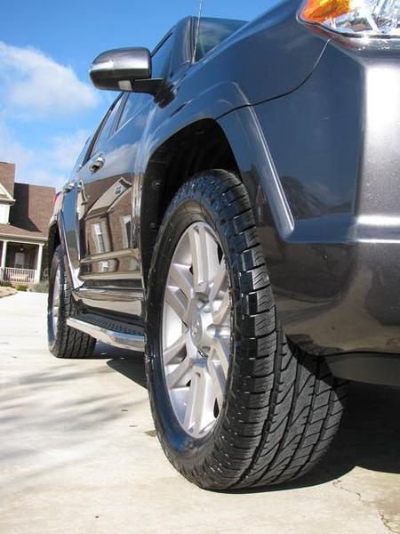 Nitto Crosstek 275 55 20 Tires Installed Toyota 4runner Forum