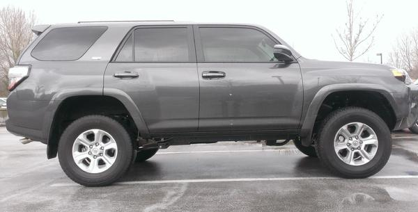 4runner 2 5 Leveling Kit Size Tires Html Autos Post