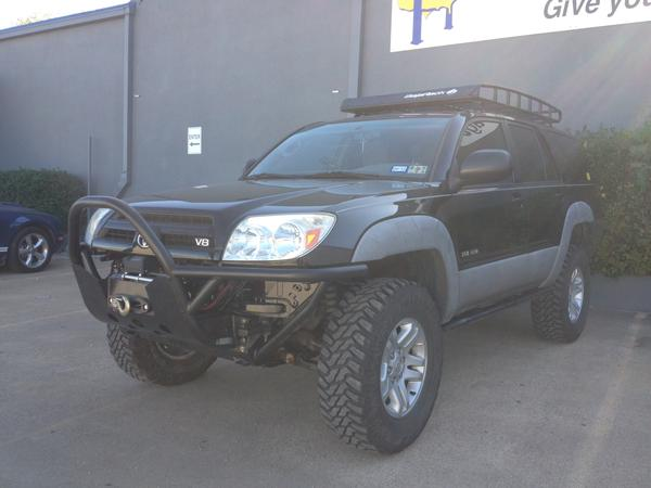 Got A Rocktek Bumper For Both T4rs Now Toyota 4runner