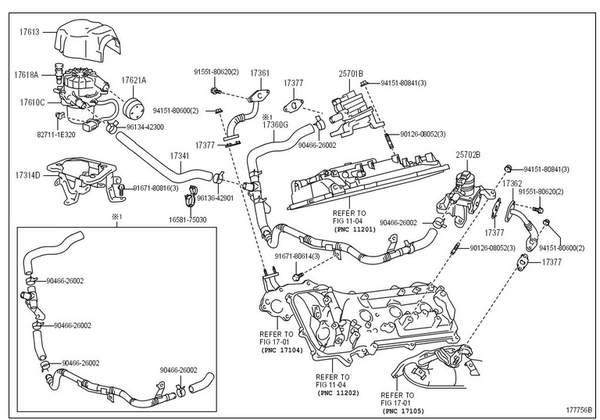 Crank Sensor Location 68932 in addition 2012 Toyota Hilux Sr5 Review 1503 besides 1996 Honda Civic Fuel Tank Pressure Sensor also Change 1995 2004 Toyota Ta a Fuel Filter likewise 5 Hp Honda Outboard Parts Diagram. on toyota 4runner oil filter location
